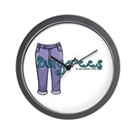 Dungarees Wall Clock