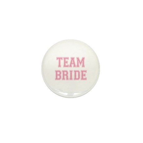Team Bride Mini Button (10 pack)