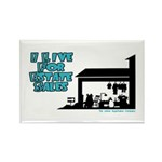 I Live For Estate Sales Rectangle Magnet (10 pack)