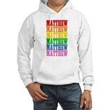 Rainbow Name Jumper Hoody