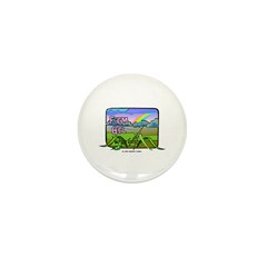 Farm Girl Rainbow Mini Button (100 pack)
