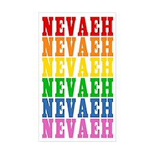 Rainbow Name Decal