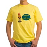 Guardian Of Mobile Homes Yellow T-Shirt