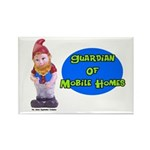 Guardian Of Mobile Homes Rectangle Magnet (10 pack