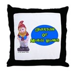 Guardian Of Mobile Homes Throw Pillow