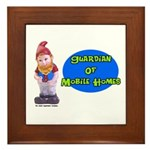 Guardian Of Mobile Homes Framed Tile