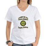 Mean Streets of Compton Women's V-Neck T-Shirt