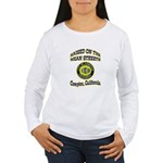 Mean Streets of Compton Women's Long Sleeve T-Shir