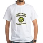 Mean Streets of Compton White T-Shirt