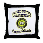 Mean Streets of Compton Throw Pillow
