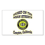 Mean Streets of Compton Sticker (Rectangle 10 pk)