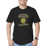 Mean Streets of Compton Men's Fitted T-Shirt (dark