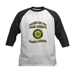 Mean Streets of Compton Kids Baseball Jersey