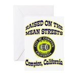 Mean Streets of Compton Greeting Cards (Pk of 20)