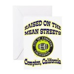 Mean Streets of Compton Greeting Card