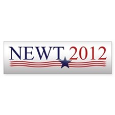 Newt Gingrich 2012 Bumper Sticker