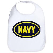 Funny Navy Bib