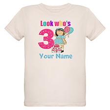 3rd birthday girl T-Shirt