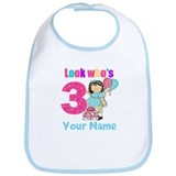 3rd birthday girl Bib