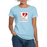 I Love My Golden Retriever Women's Light T-Shirt