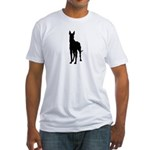 Great Dane Silhouette Fitted T-Shirt