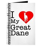 I Love My Great Dane Journal