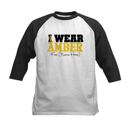Custom Appendix Cancer Kids Baseball Jersey