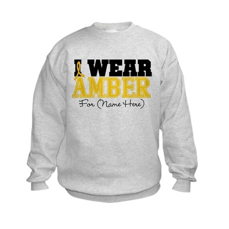 Custom Appendix Cancer Kids Sweatshirt