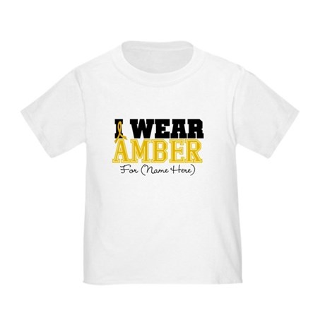 Custom Appendix Cancer Toddler T-Shirt