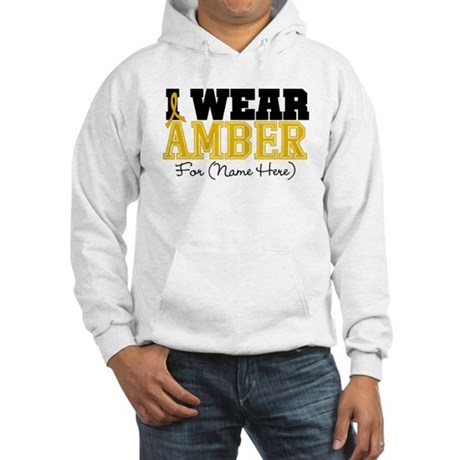 Custom Appendix Cancer Hooded Sweatshirt