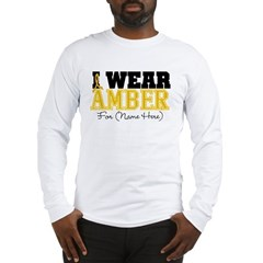 Custom Appendix Cancer Long Sleeve T-Shirt