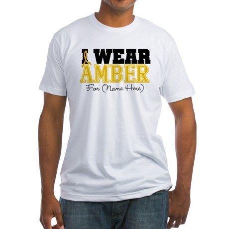 Custom Appendix Cancer Fitted T-Shirt