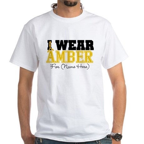 Custom Appendix Cancer White T-Shirt