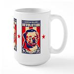 American BULLDOG Patriotism! Large Mug