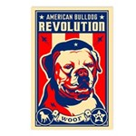 American Bulldog Postcards (Pack of 8)