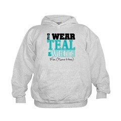 Custom Cervical Cancer Kids Hoodie