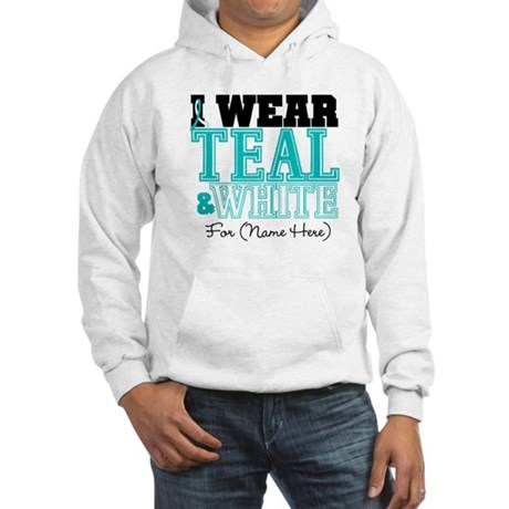 Custom Cervical Cancer Hooded Sweatshirt
