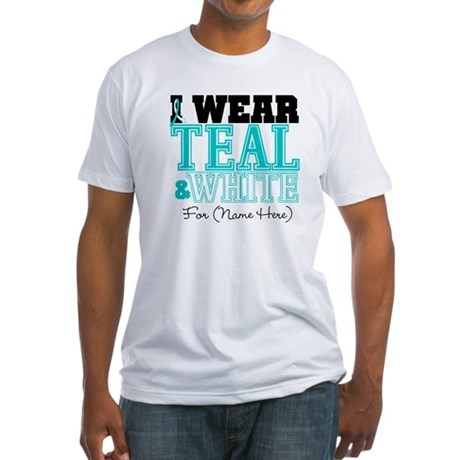 Custom Cervical Cancer Fitted T-Shirt
