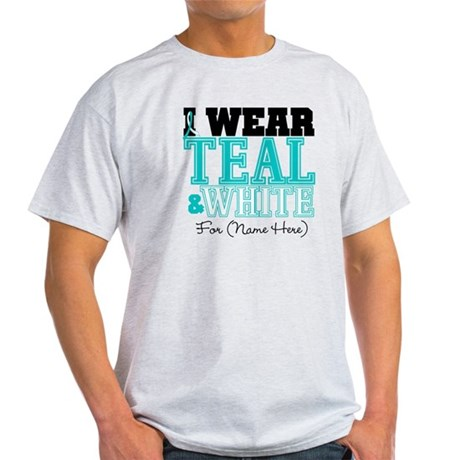 Custom Cervical Cancer Light T-Shirt