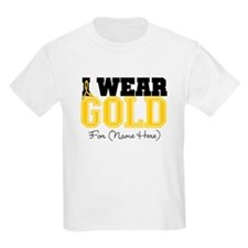 Custom Childhood Cancer T-Shirt