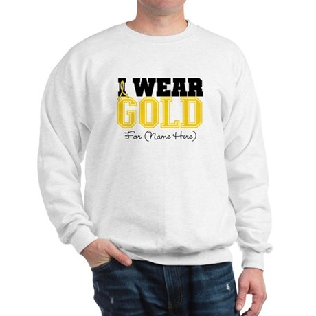 Custom Childhood Cancer Sweatshirt