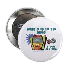 "Indians and Casinos 2.25"" Button (10 pack)"