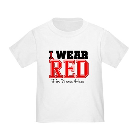 Custom Heart Disease Toddler T-Shirt