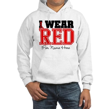 Custom Heart Disease Hooded Sweatshirt