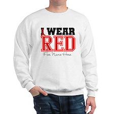 Custom Heart Disease Sweatshirt