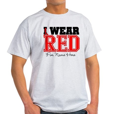 Custom Heart Disease Light T-Shirt