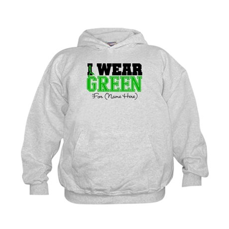 Custom Bile Duct Cancer Kids Hoodie