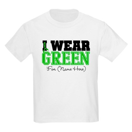 Custom Bile Duct Cancer Kids Light T-Shirt