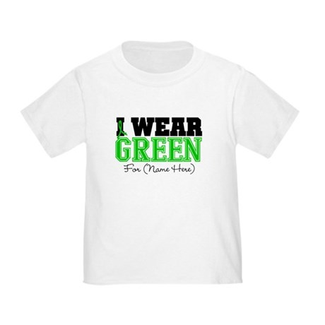 Custom Bile Duct Cancer Toddler T-Shirt