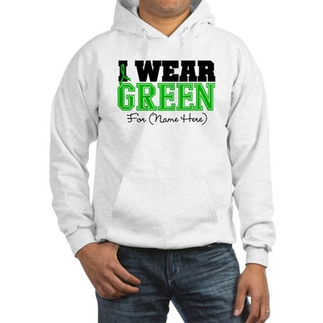 Custom Bile Duct Cancer Hooded Sweatshirt